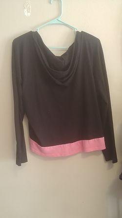 Shirt with hoody Thumbnail