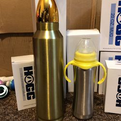 Box Of Hogg Brand Stainless Steel Cups  Thumbnail