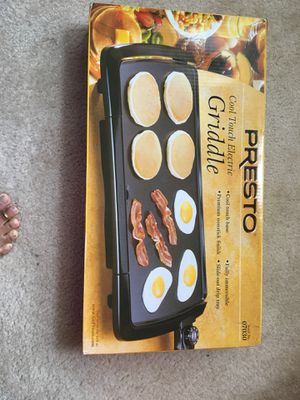 Presto electric griddle for Sale in Gaithersburg, MD
