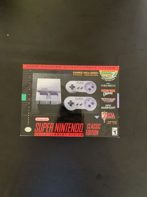 SNES classic edition for Sale in Charlotte, NC