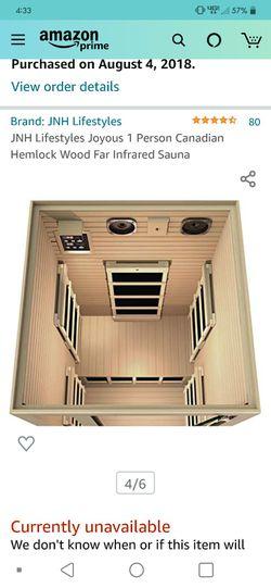 Infrared Sauna - 1 Person Thumbnail