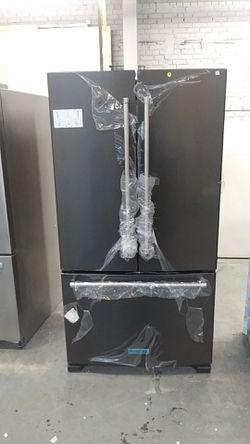 New KitchenAid black stainless steel fridge Thumbnail