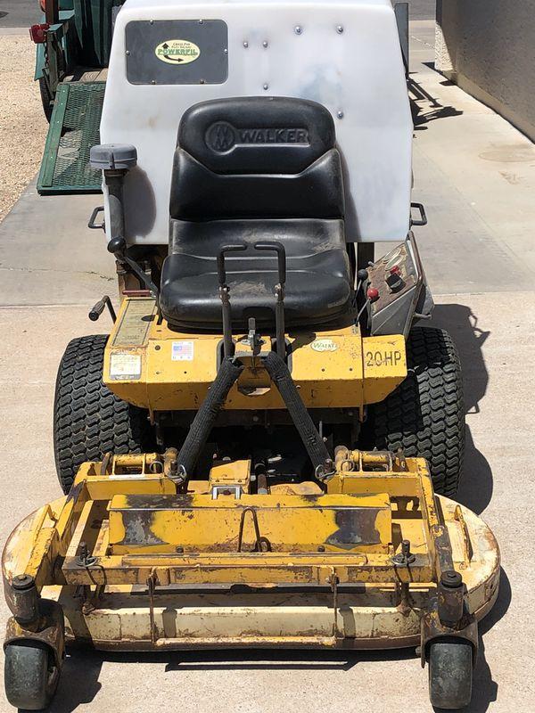 Walker Riding Lawnmower For Sale In Chandler Az Offerup