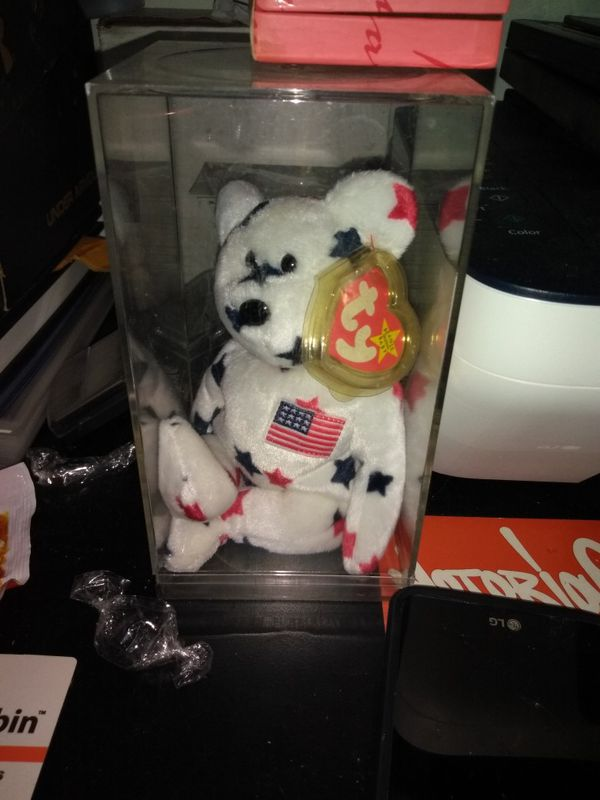 Beanie baby ty glory bear ..mint w case for Sale in Clifton ed2ea2efd07