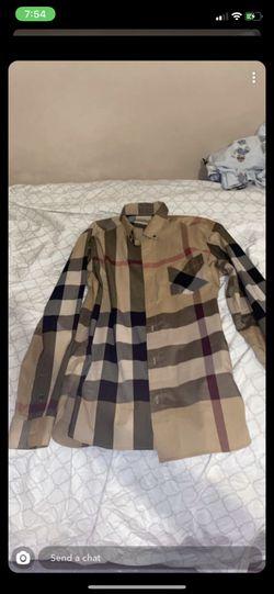 Burberry shirt men Thumbnail