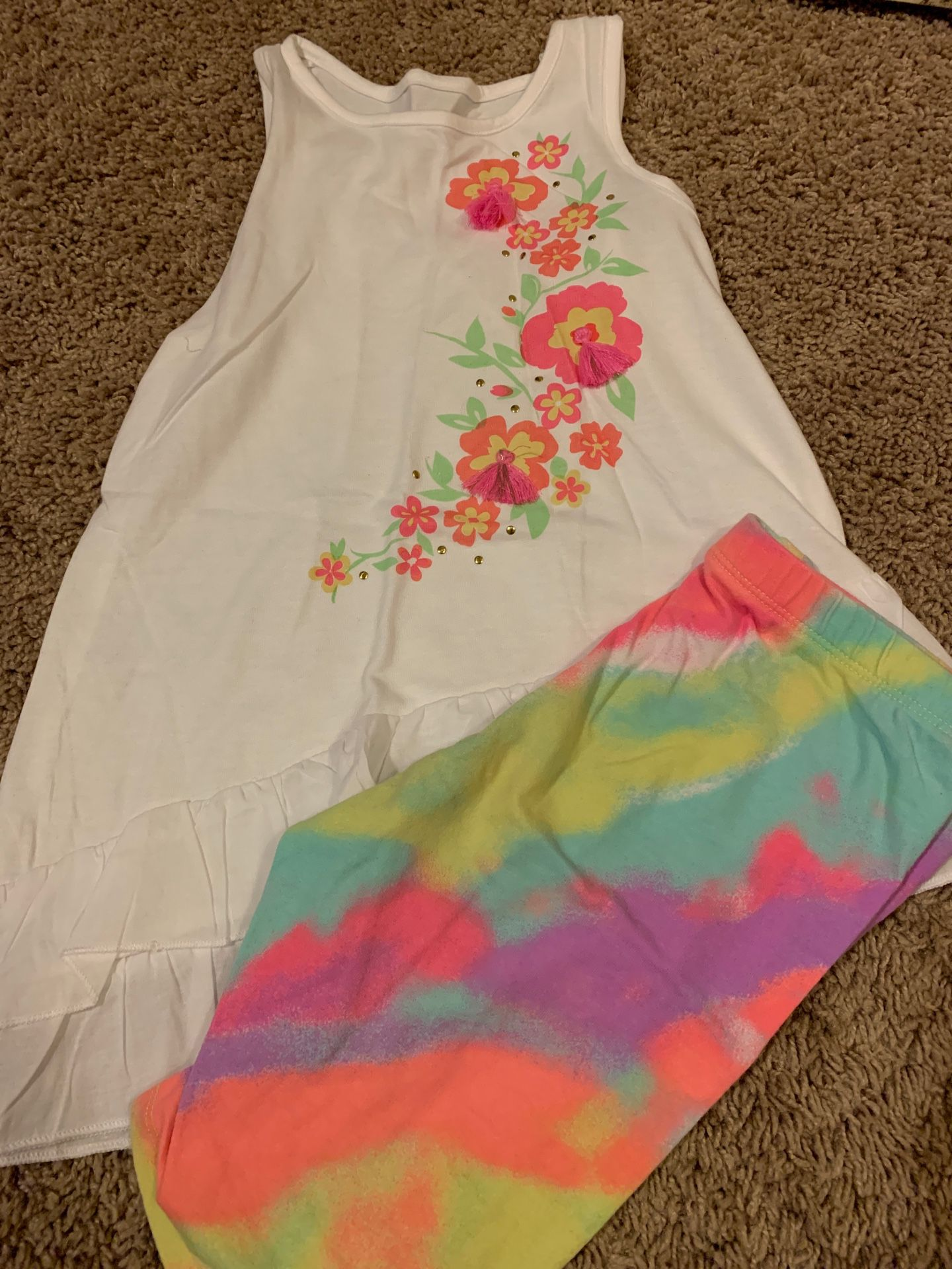 Girls size 6 summer outfit
