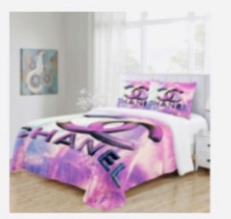 Pink King Duvet Set