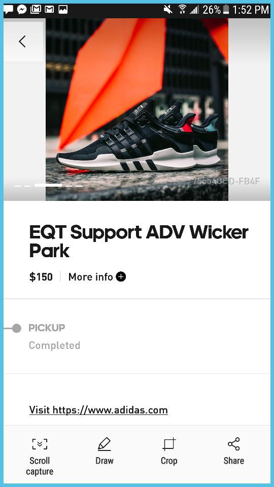 best sneakers 29c87 d732e Adidas eqt support Adv Wicker Park size 13 Adidas confirmed. (Cell Phones)  in Chicago, IL - OfferUp