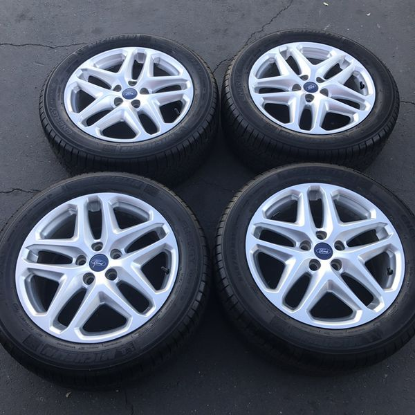 17 Oem Ford Fusion Factory Wheels Inch Silver Rims Michelin Tires For In Santa Ana Ca Offerup