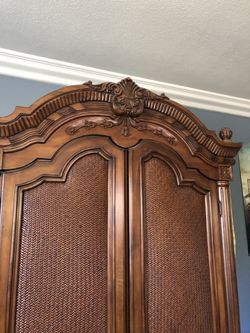 Antique armor wood really nice furniture ( antique designs ) Thumbnail
