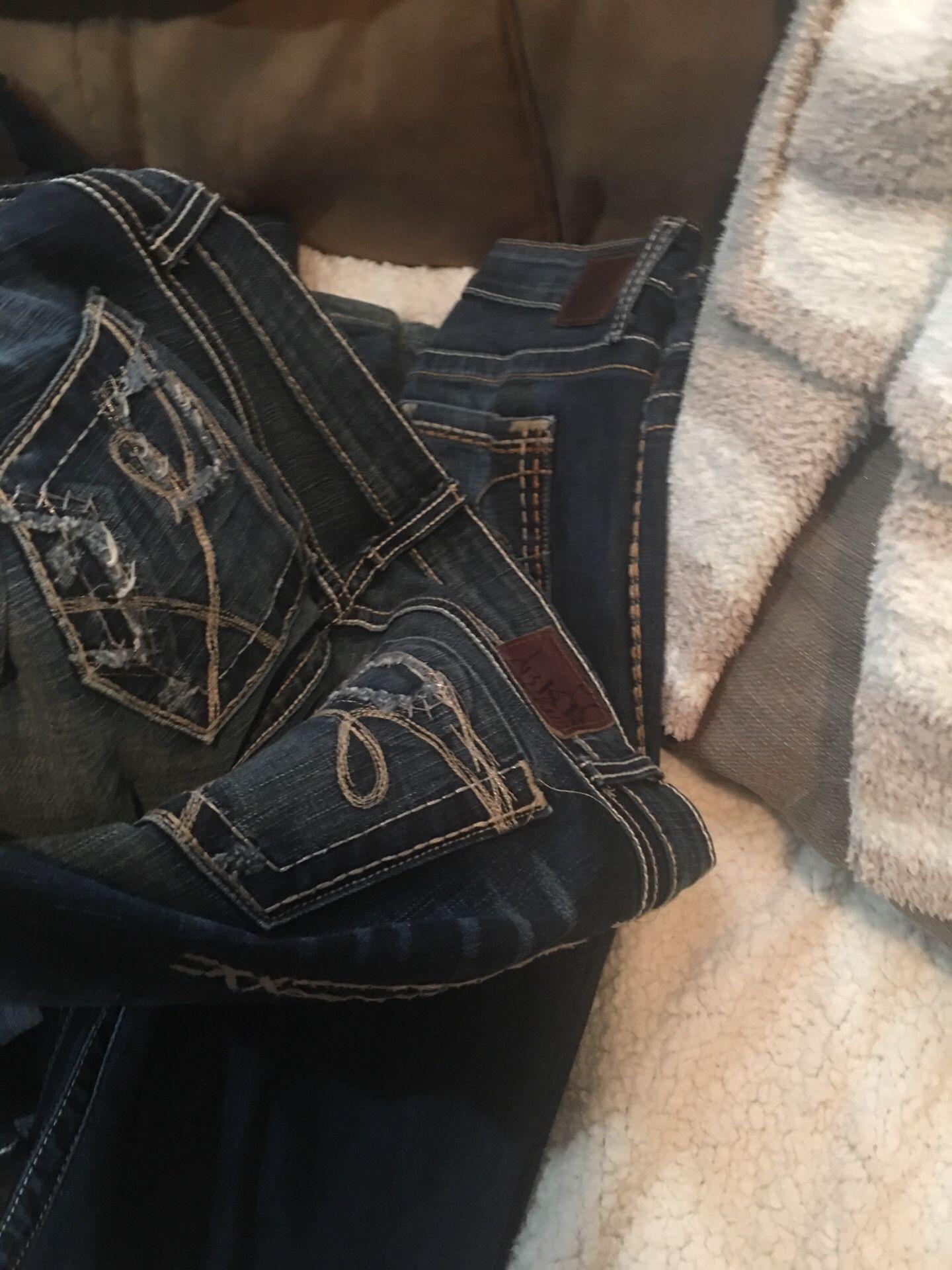Huge lot of BKE Jeans woman's