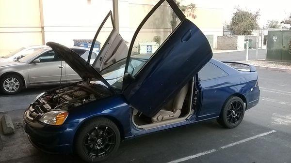 2001 Honda Civic Lambo Door Kit For Sale In Fresno Ca Offerup