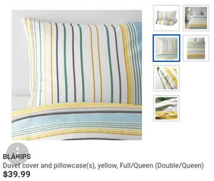 *BRAND NEW* FULL/QUEEN DUVET/COMFORTER COVER SET by IKEA for Sale in Stoughton, MA