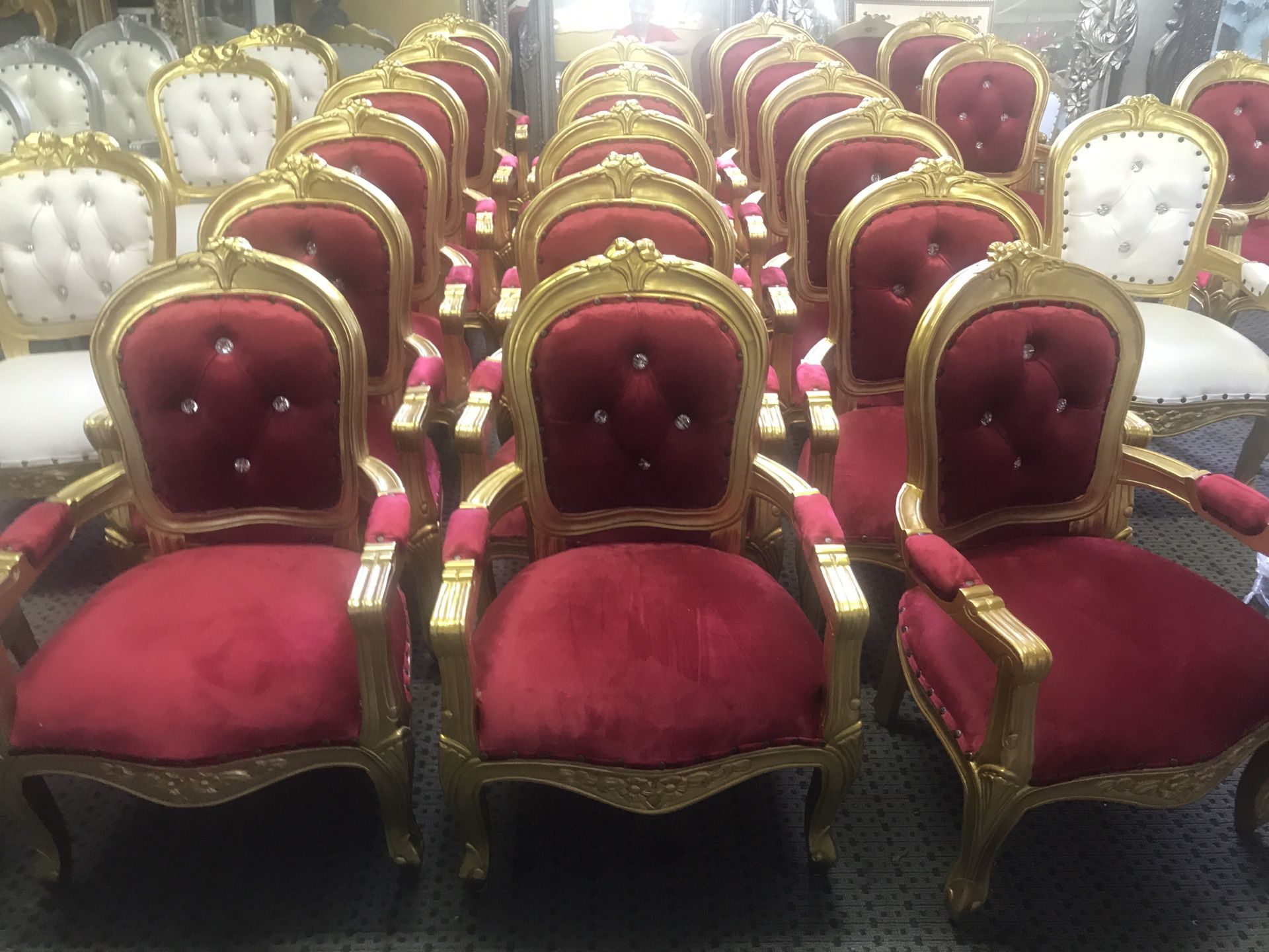 Beautiful baby throne chairs.$300 each. Best offer