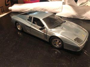 1:18 scale Ferrari 512M Testarossa Hot Wheels finished chrome for Sale in Kearneysville, WV