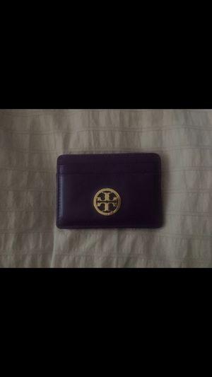 Tory Burch purple card holder-original for Sale in Orlando, FL