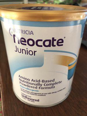 Neocate jr unflavored for Sale in Stockton, CA