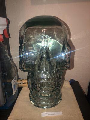 Photo Glass Skull