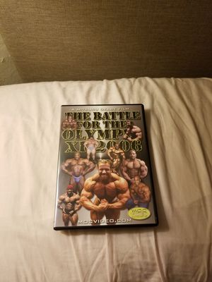 The Battle For The Olympia XI 2006 bodybuilding DVD for Sale in San Francisco, CA