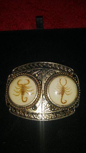 Vintage dual scorpion belt buckle for Sale in Orlando, FL