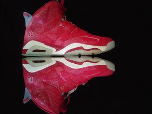 Photo Air Jordan 6 VI SLAM DUNK 2014 Varsity Red/White (Mens 9.5) 100% Authentic