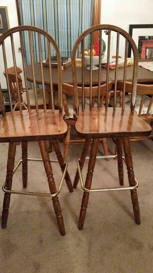 Two bar stools for Sale in Richmond, VA
