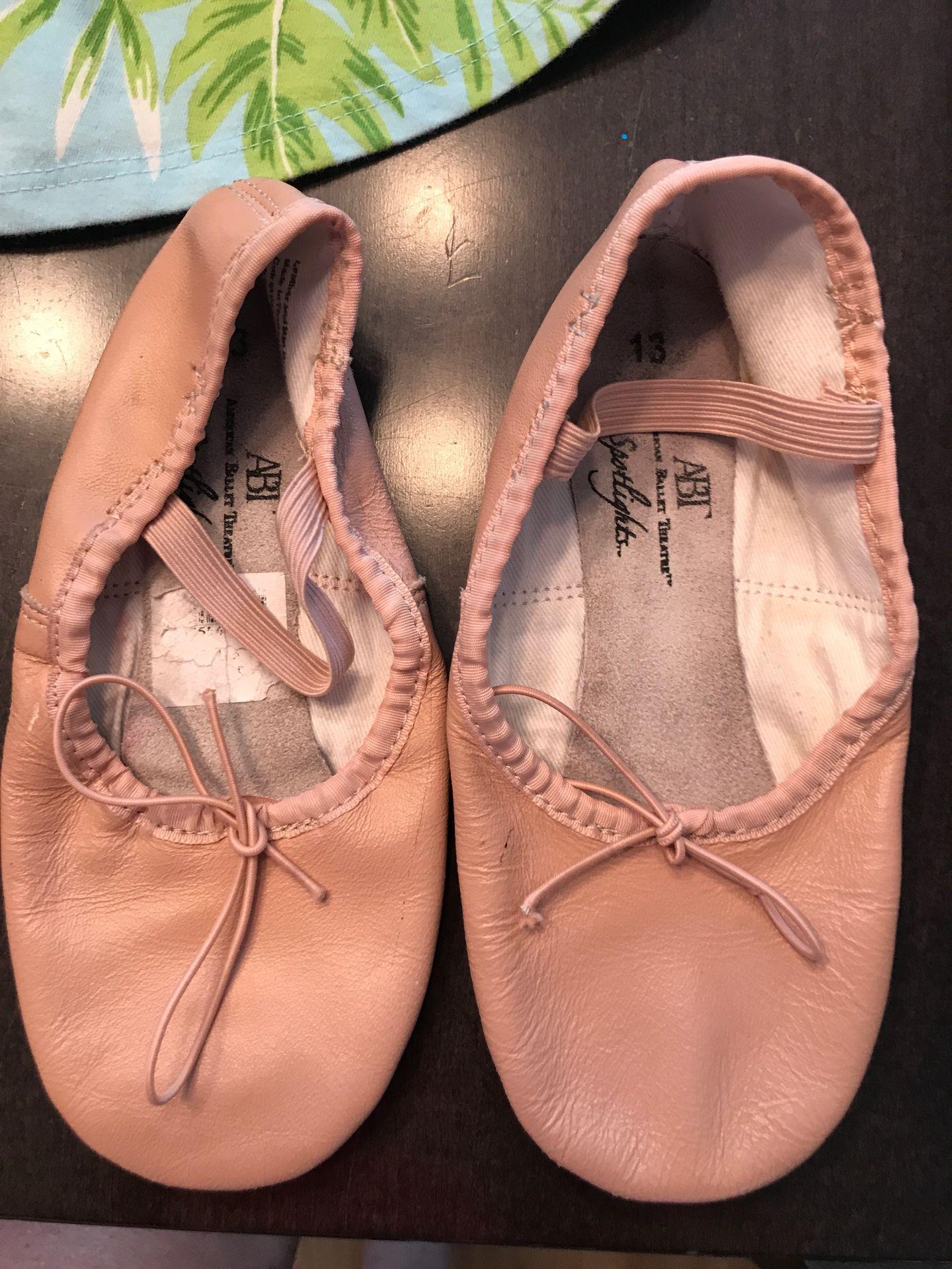Size 13 ballet shoes