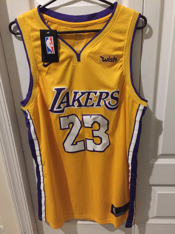 38b0b2cec Brand New LAKERS JAMES 23 jersey. Size XL for Sale in North Bergen ...