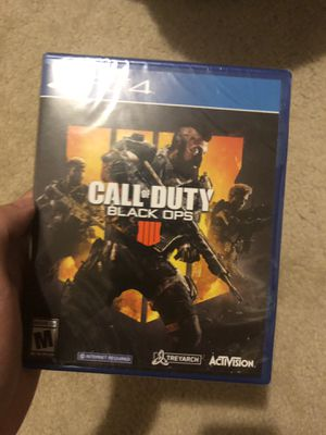 Call of duty black ops 4. for Sale in Seattle, WA