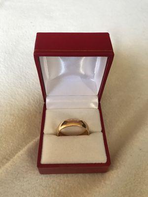 Men's 14k gold wedding band for Sale in Washington, DC