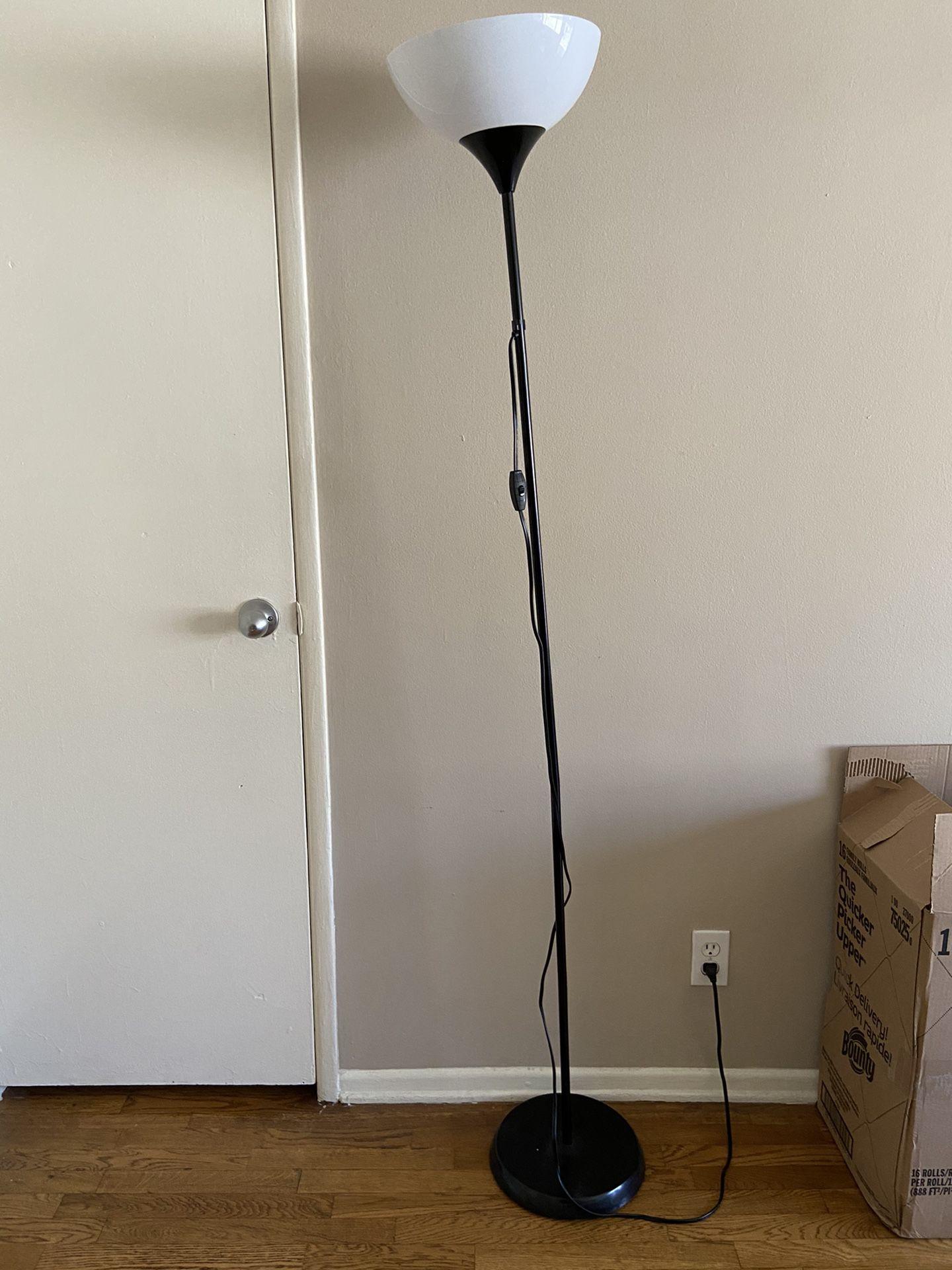 Ikea Not floor lamp with Bulb