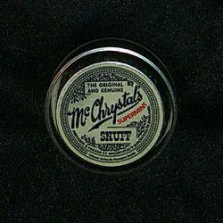 Mc Chrystal's 1926 Snuff Can Thumbnail