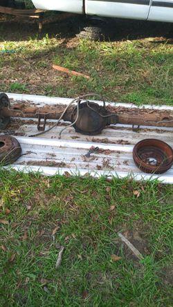 Rear axle out of 95 chevy Silverado Thumbnail
