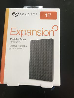 1 TB portable drive brand new never opened for Sale in Hamtramck, MI