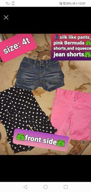 Photo Girls 4T Summer Shorts