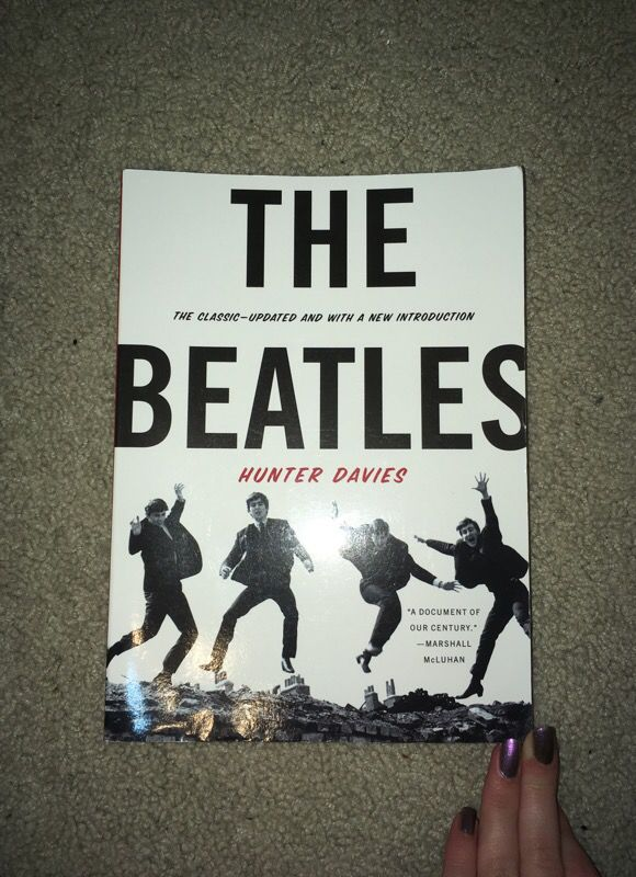 The Beatles Documentary Book By Hunter Davies For Sale In Olympia