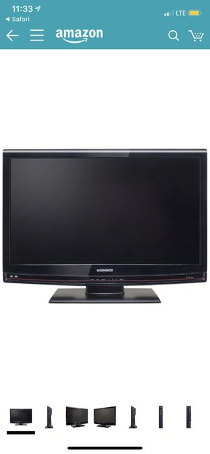 Magnavox 32MD350B/F7 32-Inch 720p LCD HDTV with Built in DVD player, Black for Sale in Gainesville, VA
