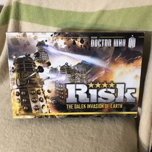 Photo Risk Doctor Who the Dalek Invasion of Earth Board Game