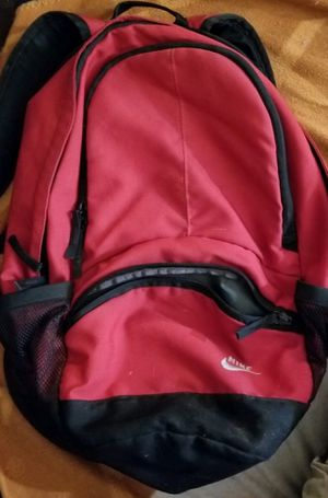 Photo Red Nike Backpack