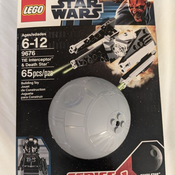 New Lego Star Wars Tie Interceptor Amp Death Star Set 9676