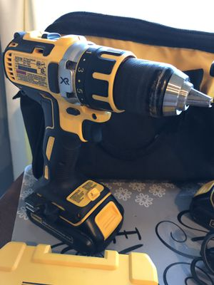 DeWalt 20v Max X-R battery power Drill & Driver set for Sale in Martinsburg, WV