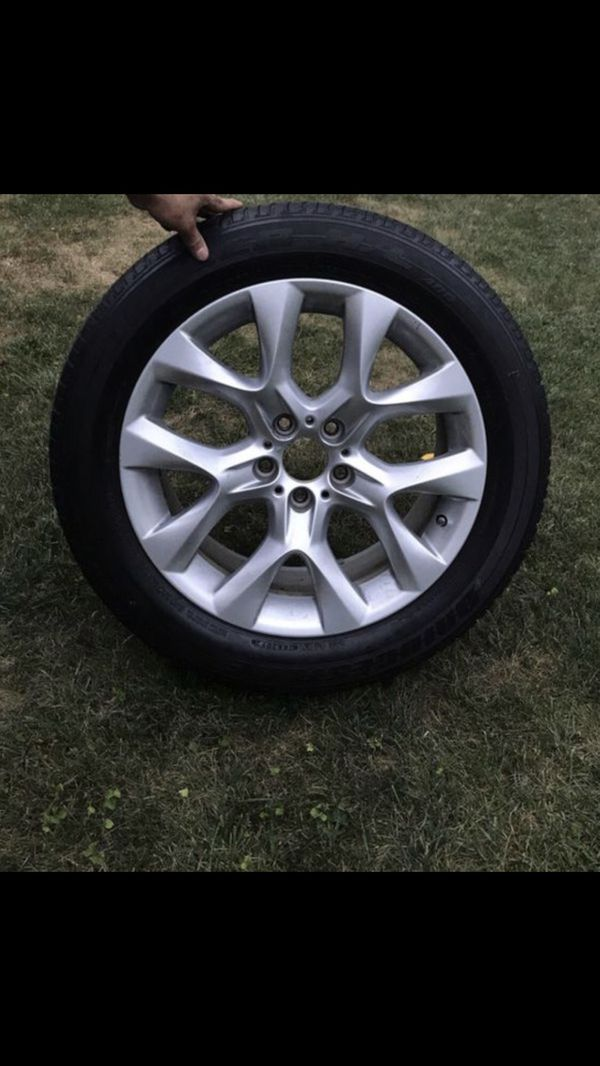 Original Bmw Round Flat Tires With Rims For Sale In Naperville Il