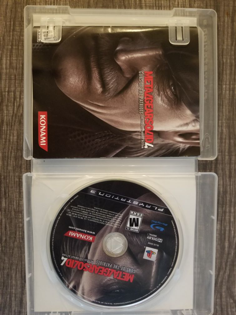 PS3 games and 1 PC game