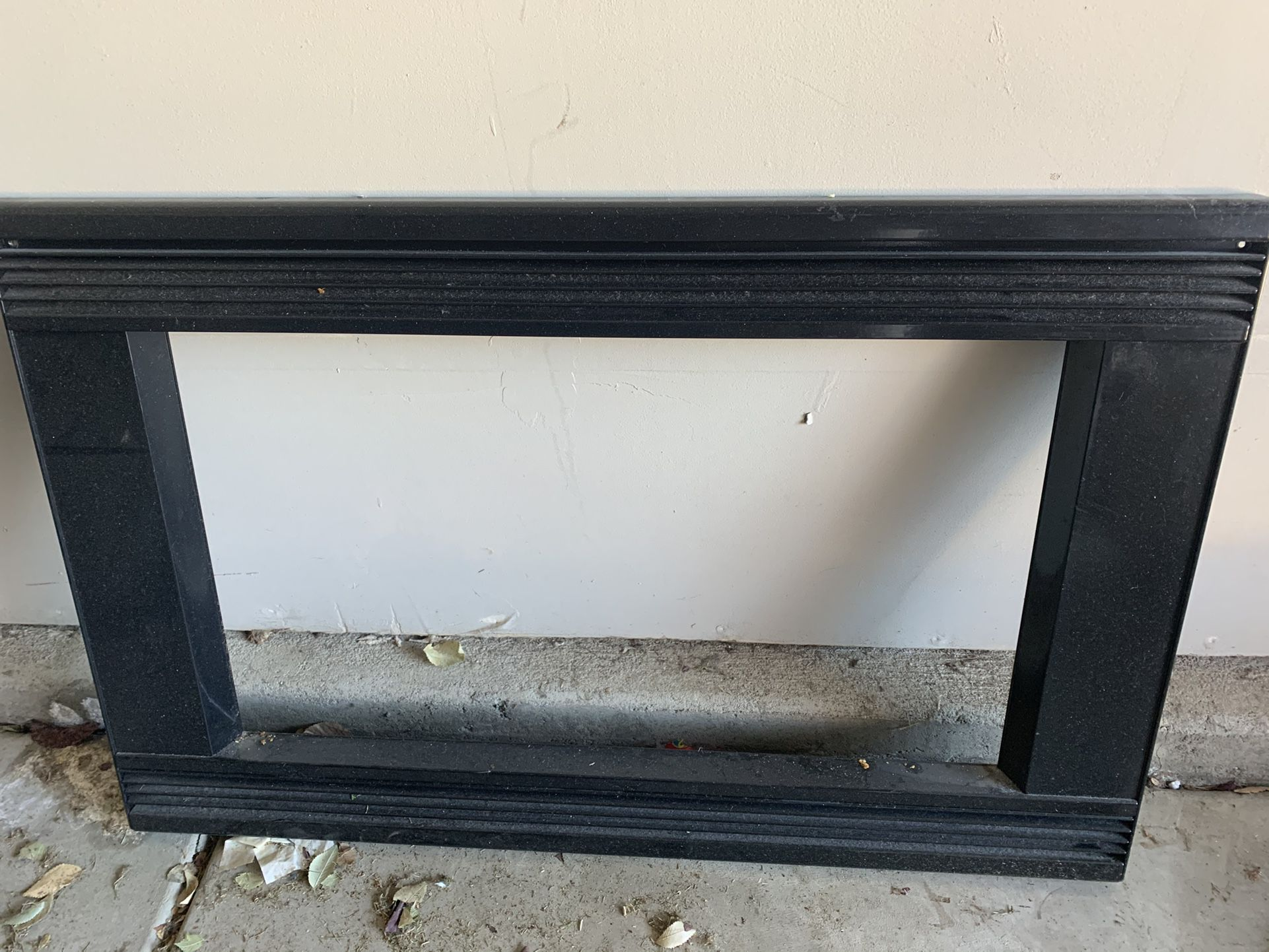microwave and matching trim