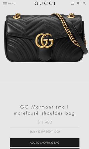 dacd349b8a7c New and Used Gucci bag for Sale in Monterey, CA - OfferUp