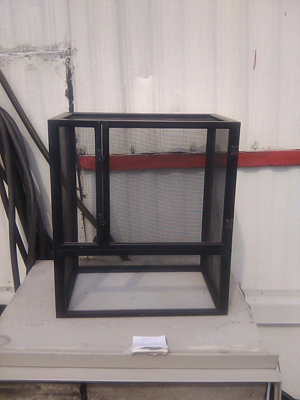 Small bird cage or hamster or Mouse 18 in wide 20 in tall 11 and 1/8 deep