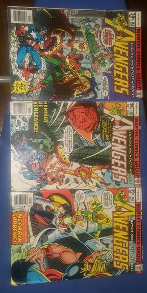 Avengers Comics issues 161-171, 173 $80 OBO for Sale in Cleveland, OH