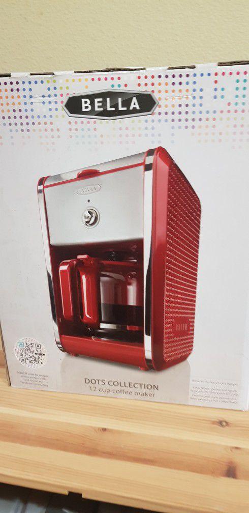 Brand NEW in Box Bella COFFEE MAKER