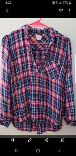 Ladies plaid shirts Thumbnail
