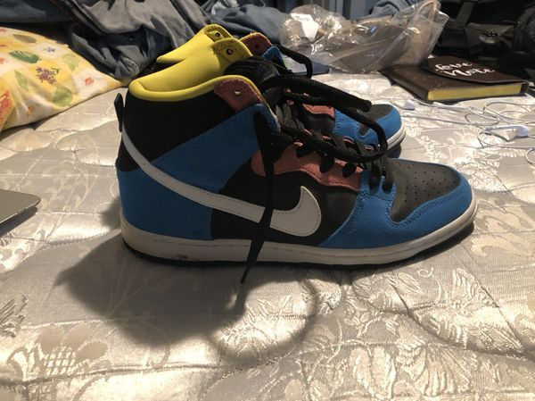 "reputable site cb290 0495a Nike Sb Dunks high ""bazooka joe"" size 10 men's. for Sale in Lake Worth, FL  - OfferUp"